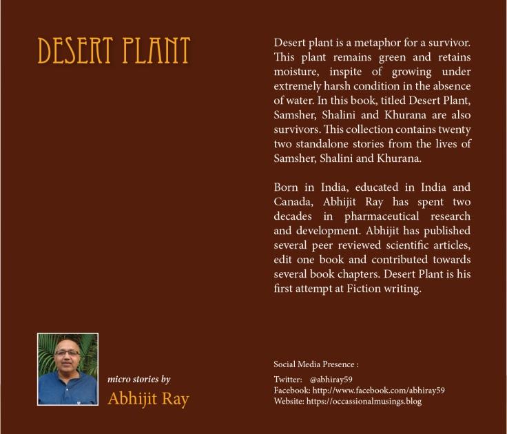 Desert Plant Back